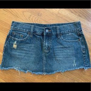 Wet Seal Jean Skirt